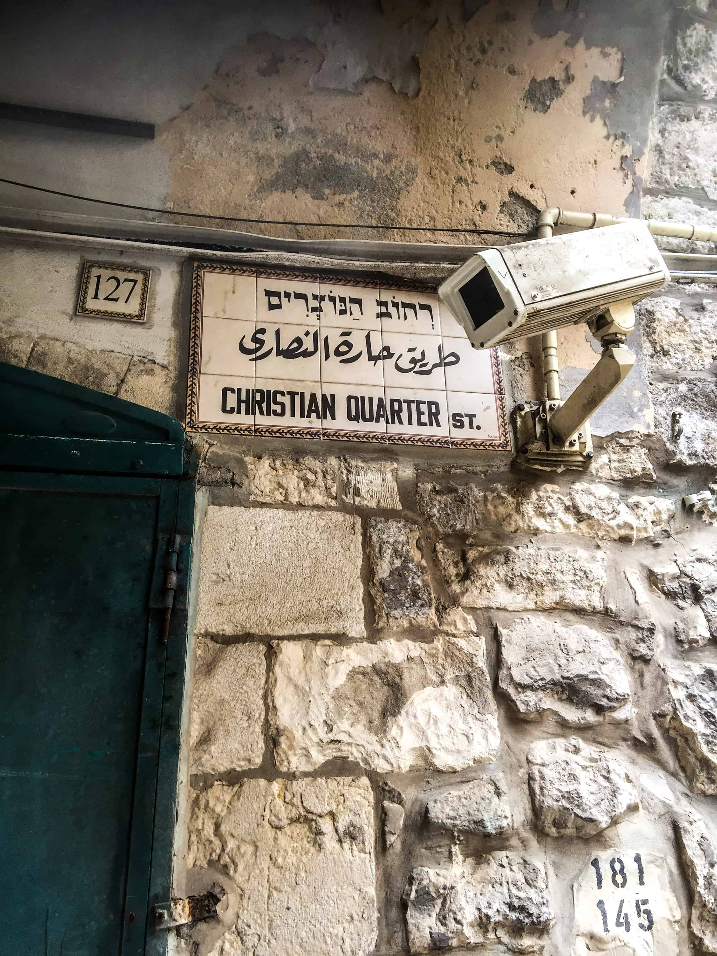 Jerusalem – Streets in the Old Town