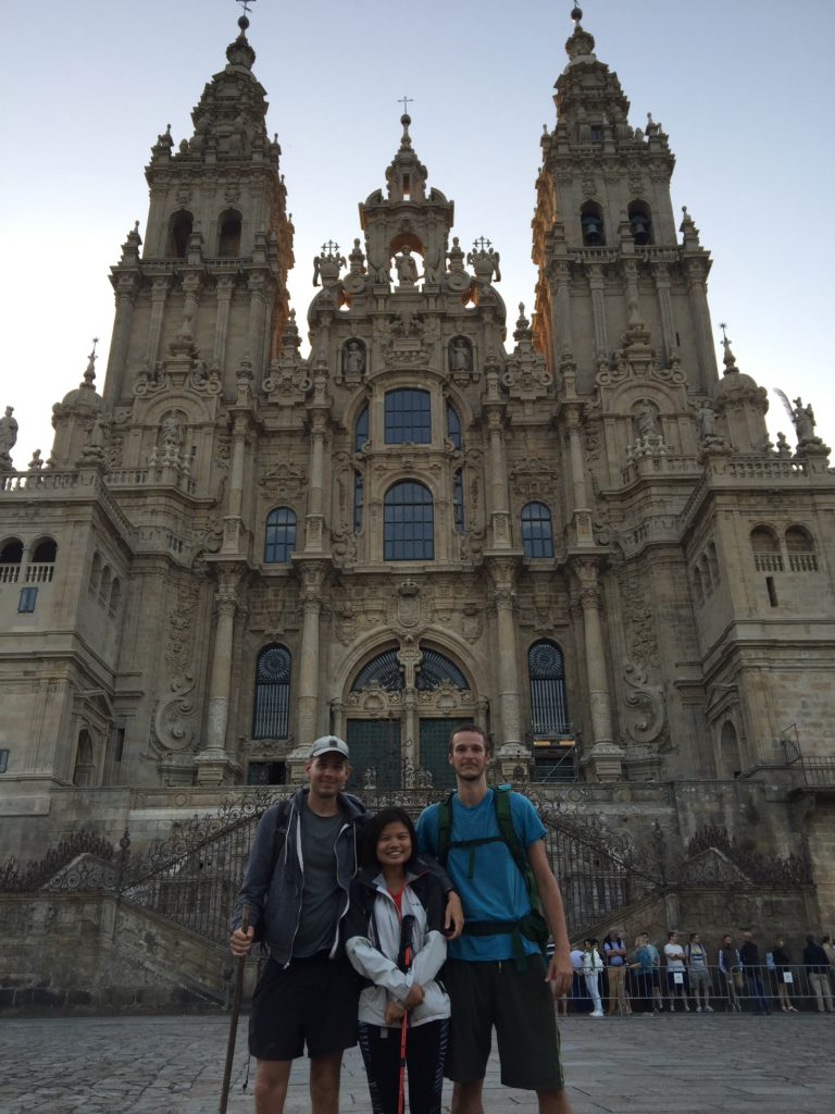 Santiago cathedral and some no-friends