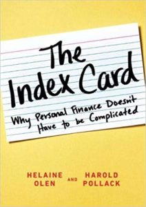 Harold Pollack - The Index Card: Why Personal Finance Doesn't Have to Be Complicated
