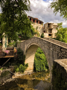 Mostar small old bridge