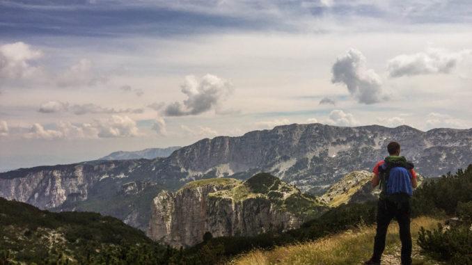 Mountain lodge just below Veliki Vilinac